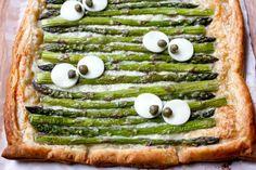 Asparagus Gruyere Tart | CookingLight.com