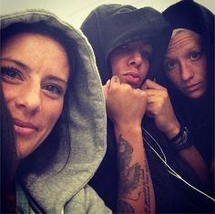 Ali Krieger, Sydney Leroux, Megan Rapinoe. (Instagram)