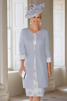 Spring/Summer 2019 Condici Mother of the Bride Dresses Special Occasion Outfits Mother Of Groom Outfits, Mother Of The Bride Fashion, Mother Of The Bride Suits, Grooms Mother Dresses, Mothers Dresses, Bride Dresses, Winter Dresses, Marie, Lace Dress