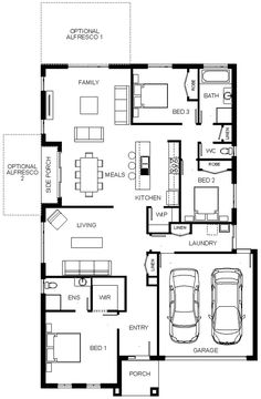 Floorplan Ritz 1