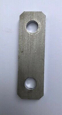 Stainless Steel Flat Bar Bracket Spacer 1 3 16 X 3 15 16 X 3 8 Thick W 2 Bolts Ebay Stainless Steel Flat Bar Bracket Steel