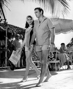 Sean Connory, Sean Connery James Bond, Claudine Auger, James Bond Style, James Bond Movies, Bond Girls, People Of Interest, Marilyn Monroe Photos, Summer Is Coming