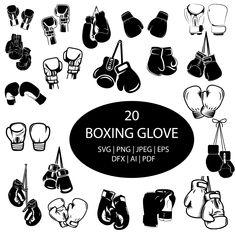 Boxing Gloves Drawing, Boxing Gloves Tattoo, Boxing Tattoos, Tree Silhouette Tattoo, Silhouette Clip Art, Awareness Tattoo, Doodle, Flash Art, Box Art