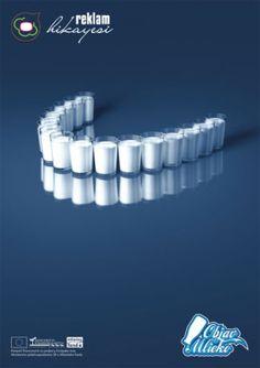 Sağlıklı dişler için, süt için :) | Reklam Hikayesi
