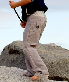 Surfer Slacks sewing pattern for boys by See Kate Sew – Go To Patterns