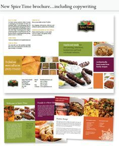 Brochure Design For Mexican Food Restaurant  Brochures