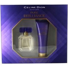 CELINE DION PURE BRILLIANCE by Celine Dion Gift Set for WOMEN: EDT SPRAY 1 OZ & BODY LOTION 2.5 OZ by Celine Dion. $13.79. Design House: Celine Dion. CELINE DION PURE BRILLIANCE by Celine Dion for WOMEN EDT SPRAY 1 OZ & BODY LOTION 2.5 OZ Launched by the design house of Celine Dion in 2010