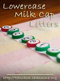 Letter templates for car or airplane trips! Can use stickers, rocks, dot markers...