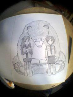 Character illustration from BUMI-tereliye novel