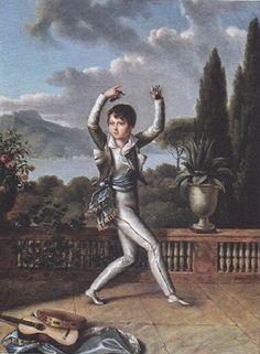 Lucien Murat by Benjamin Rolland, 1811.  Lucien (1803-1878), prince français, prince de Naples, prince de Pontecorvo, puis 3ème prince Murat, épousa en 1831 Caroline Georgina Fraser (5 enfants naîtront de cette union). De lui descend l'actuel prince Murat, Joachim, 8ème prince Murat, né en 1944.
