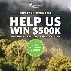 We've got a chance to win $500,000 in Microsoft's #UpgradeYourWorld contest, but we need your help! It's easy to vote—click through for details!