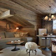 Hotel Arlberg Jagdhaus: landhausstil Wohnzimmer von Go Interiors GmbH