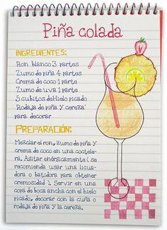 Receta cóctel Piña Colada - Descubre Catabox - Packs Gin Tonic y Vino - El regalo perfecto para los amantes de las cosas buenas y bonitas