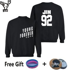 Special price BTS Kpop Capless BTS Sweatshirt Women Cotton Korean Bangtan Women Hoodies Sweatshirts BTS Young Forever Album Casual 4XL Clothes just only $10.96 with free shipping worldwide  #womanhoodiessweatshirts Plese click on picture to see our special price for you