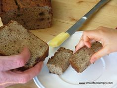 It Makes a Meal – Protein Packed Banana Bread