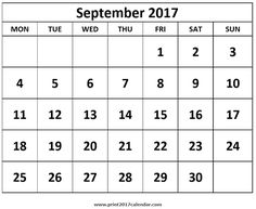 September  Calendar With Holidays HttpSocialebuzzCom