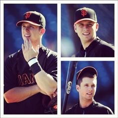 buster posey!! Cortnie, I think Michael looks just like him lol! And he's one of my favorite baseball players!
