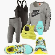 Fantastic workout outfit!