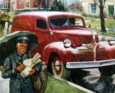 2013   Sent to Al  8/4   Vintage 4 - Dodge panel truck (120 pieces)