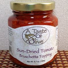 Sun Dried Tomato Bruschetta Topping