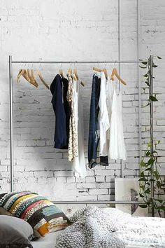 Rolling Clothing Rack - Urban Outfitters