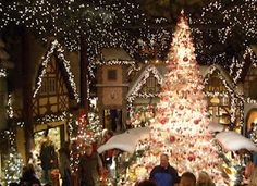Christmas in Germany! Kathe Wohlfahrt's...most incredible Christmas store in the world...