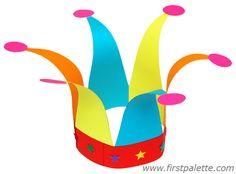 Jester's Hat Craft | Kids' Crafts | FirstPalette.com