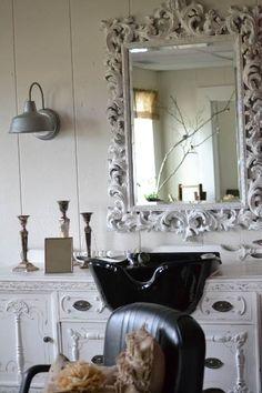 set tango para el cabello de ricardo rojas the chandelier shabby chic and love the - Home Salon Furniture