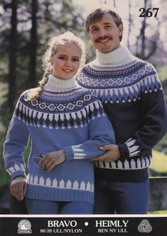 Svanedal 267 Love Blue, Blue And White, Norwegian Knitting, Knitting Patterns, Men Sweater, Turtle Neck, Pullover, Wool, Sweaters