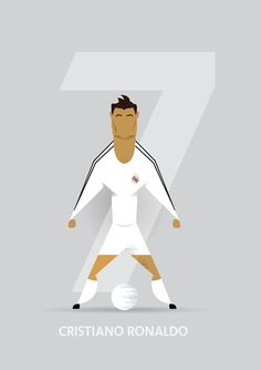 Football Greats on Behance by Simon Walsh