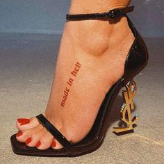 Wörter Tattoos, Red Ink Tattoos, Dainty Tattoos, Dope Tattoos, Mini Tattoos, Unique Tattoos, Sleeve Tattoos, Tatoos, Girl Spine Tattoos