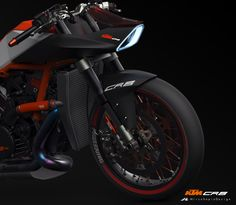 KTM CR8 - Cafè Racer on Behance by Mirco Sapio More bikes here.