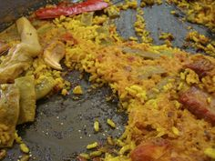 Paella Valenciana - Telero Restaurantes en Gandia Con Encanto - Donde Comer bien en Gandia - Paella Valenciana De Gandia