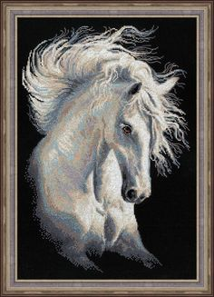 Cross Stitch Kit by Riolis Andalusian by ArtfulStitchings on Etsy