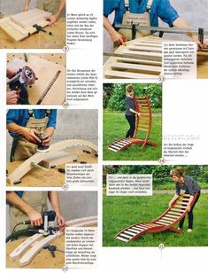 DIY Sun Lounger - Outdoor Furniture Plans Outdoor Plans