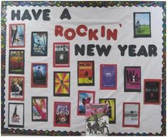Rockin' New Year.  YA display 01/12