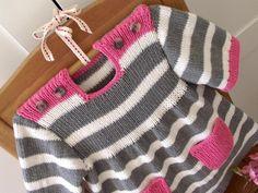 Happy Day Baby Dress Knitting pattern by Lilia Vanini