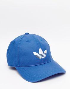 Shop adidas Originals Cap In Blue at ASOS. 579303e08a3