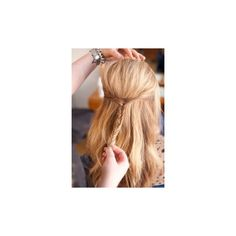 Curly Ombre Hair Extensions Brown To Blonde Ombre Hair Extensions... ❤ liked on Polyvore