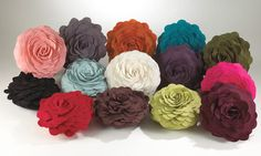 Ad: Petal Pillows in lots of different fun colors! #eBayCollection #FollowItFindIt