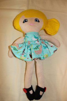 Hand made doll.