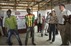 Queens & Princesses - Crown Princess Mary visits camp Tierkidi refugees in Gambella (on the border with Sudan)