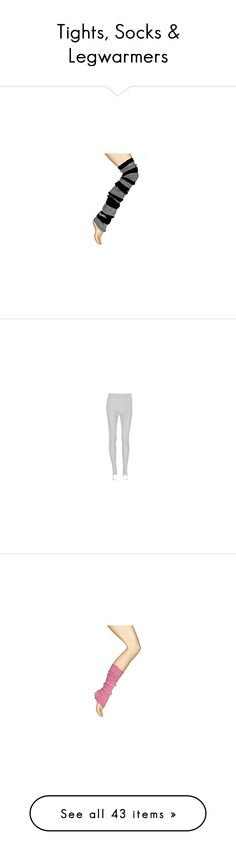 """Tights, Socks & Legwarmers"" by dancing-inthe-street ❤ liked on Polyvore featuring Bloch, Capezio, knitwear, elastic, dancer, accessories, knitted, warm up, stripy and inspiration"