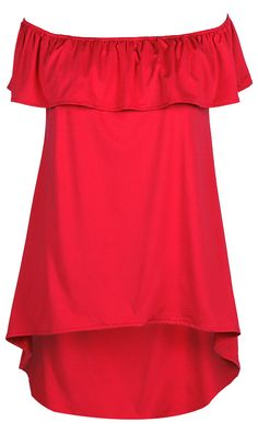 Whether you're shopping at the local vintage stores or hitting up an after-hours spot, this Off the Shoulder Top will keep you looking fresh. It has a classic simple solid color and perfectly high low design. You can't go wrong with the dress!