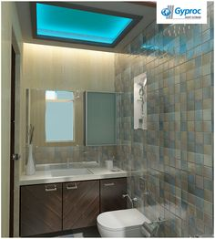 Gyproc #falseceiling can completely change your living room & give it a refined and modern look! Visit www.gyproc.in