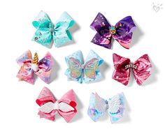 Add a little hair flair with JoJo Siwa Bows! Jojo Hair Bows, Jojo Bows, Justice Accessories, Girls Hair Accessories, Justice Bags, Justice Store, Cute Baby Girl, Cute Girls, Jojo Siwa Outfits