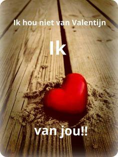 Ik hou niet van Valentijn..Ik hou van jou