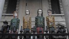 Robert Koenig Odyssey sculptures in Trafalgar Square London