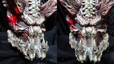 homemade Predator mask