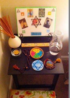 kitchenjewitch: bedroom altar